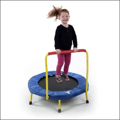 The Original Toy Company Fold & Go Trampoline review