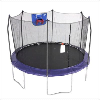 Skywalker Trampolines Jump N' Dunk Trampoline review